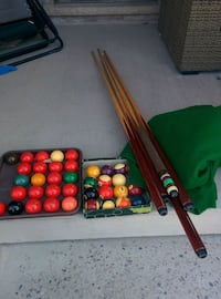 Billard items, felt is 6x12( make an offer) Hamilton, L8J 2V5