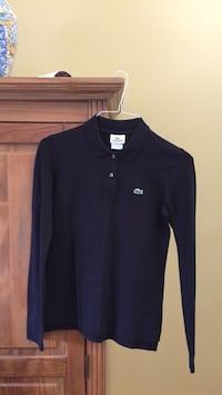 Lacoste polo long sleeves new size small  Gatineau, J8T 5G2