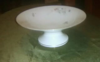"""""""Floral"""" Cake Stand"""