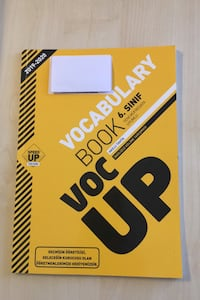 Speed up publishing 6.sınıf voc up vocabulary book 2019-2020