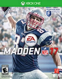 Madden NFL 17 PS4 game case New Port Richey, 34653