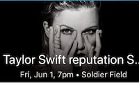 Taylor Swift REPUTATION tour tickets for June 1st Naperville, 60565