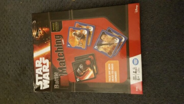 New star wars matching game
