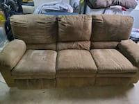2 Recliner couch
