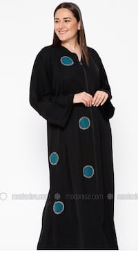 black and green long-sleeved dress London, N6E 3R1