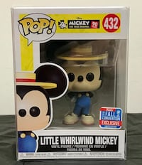 Little Whirlwind Mickey NYCC Exclusive Funko Pop Toronto, M2J