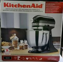 *NEW* NEVER OPENED Onyx Black 5QT Artisan Kitchenaid Mixer