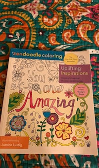 Uplifting inspirations coloring book