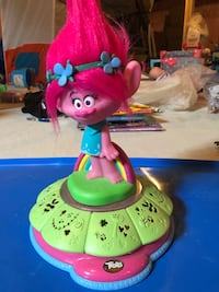Trolls Poppy musical toy.