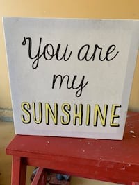 You are my sunshine canvas Tualatin, 97062