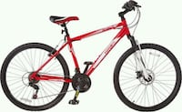 red and black hard tail mountain bike London, N5Y 1X8