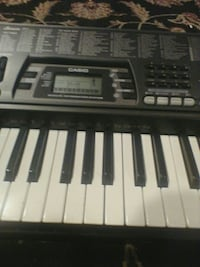 black and gray Casio electronic keyboard Burlington, 06013