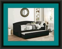 Daybed black with a mattress Upper Marlboro, 20772
