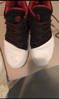 Pair of black-and-white James harden basketball shoes Houston, 77057