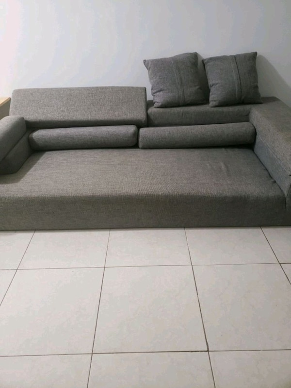 Sensational Gray Microfiber Couch Download Free Architecture Designs Scobabritishbridgeorg