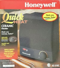 Honeywell Ceramic Heater Mississauga, L5J 4B3
