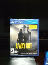 A Way Out PS4 brand new