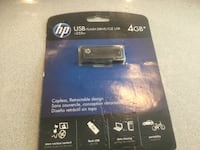 HP USB 4 GB NEW NEVER OPENED Centreville, 20120