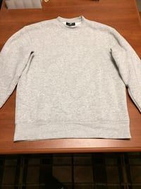 H and M grey crew neck sweater