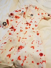 Bloody nurse Halloween costume Pitt Meadows