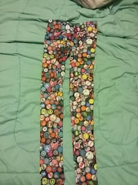 Multicolored fitted pants size Small Adrian, 49221