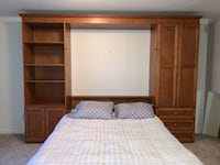 Real Natural Oak Wall Bed Vancouver, 98664
