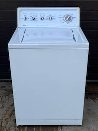 Kenmore large capacity washer, 12 month warranty