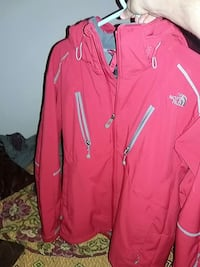 pink The North Face full-zip jacket Gaithersburg, 20877