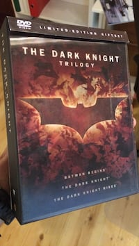 The Dark Knight trilogi DVD Stavanger, 4014