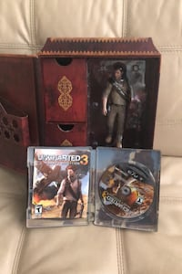 Uncharted 3 collectors kit