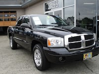 2006 Dodge Dakota Black,Gray auburn, 98002