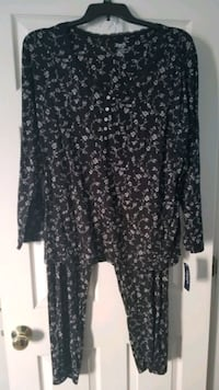 Comfortable New Chaps Floral Pajama Set XXL Stafford, 22554