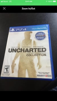 Uncharted 4 ps4 game