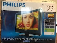 Philips TV 22 inches (missing remote ) Toronto, M2J 2C5