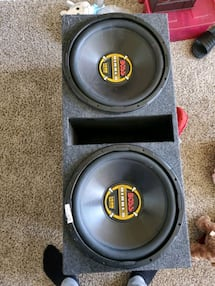 Two 15s (Subwoofers)