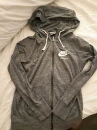 gray Nike zip-up hoodie Surrey, V3T 0K2