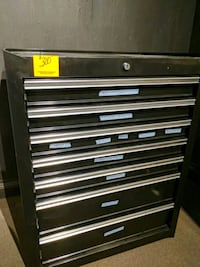 7 drawer tool cabinet with key San Francisco, 94108