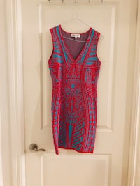 women's red and black sleeveless dress Vaughan, L4K 5T4