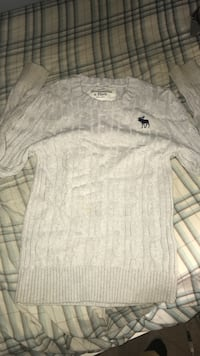 Grey Abercrombie Sweater for kids Shelbyville, 37160