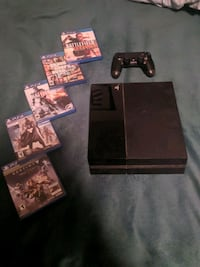PS4 400GB w/ games and controller Ijamsville, 21754