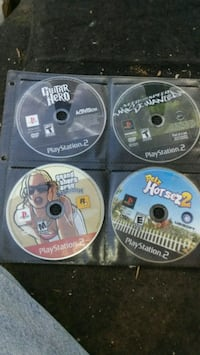 four assorted PS3 game discs North Little Rock, 72116