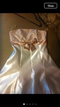 Woman size 3 mini formal dress