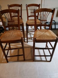 two brown wooden windsor chairs Rockford, 61108