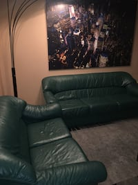 Premium leather couches (two pieces)  Toronto, M3N 1Y7