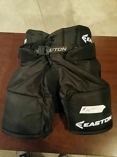black Easton pads