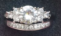 4 ctw stunning solitare engagement/wedding set Baltimore, 21224