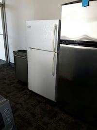 silver and white top mount refrigerators and silver dishwasher Mississauga, L5S 1B1