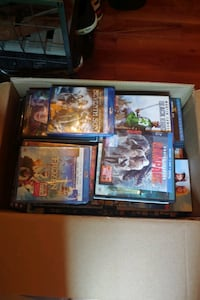 Misc. Box of Blu-rays, PS4/PC games, CDs. The WHOLE BOX!