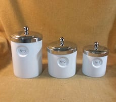 Decor Canisters/Lids