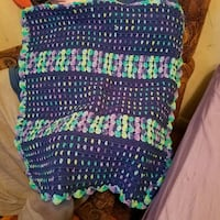 blue, green, and yellow knit textile Accokeek, 20607